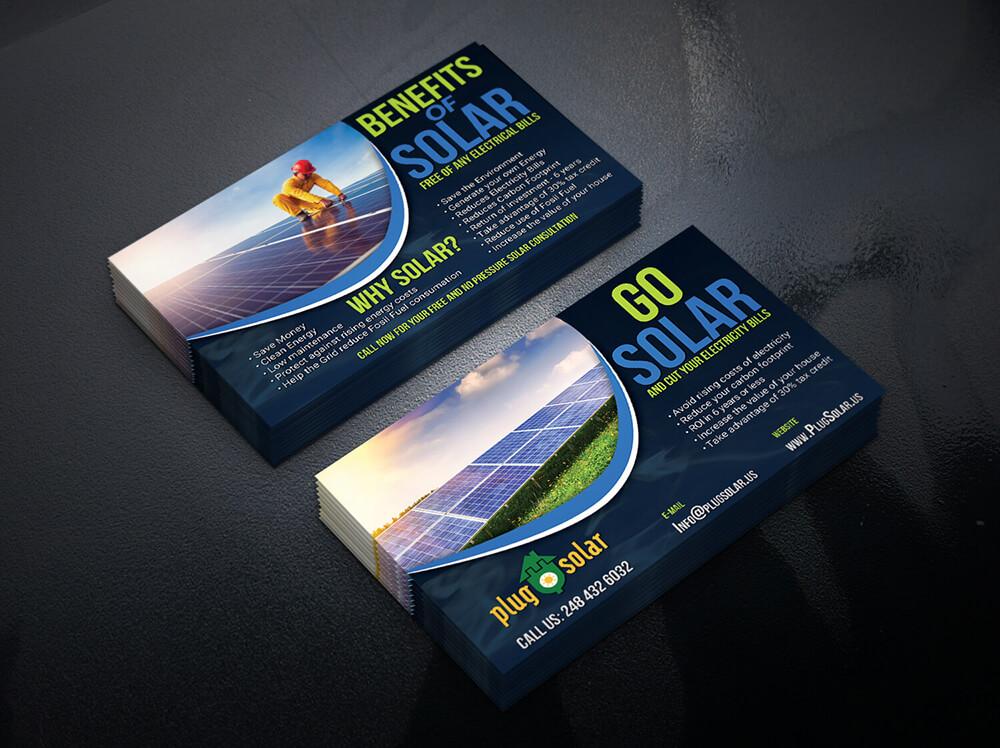 Go Solar Business card