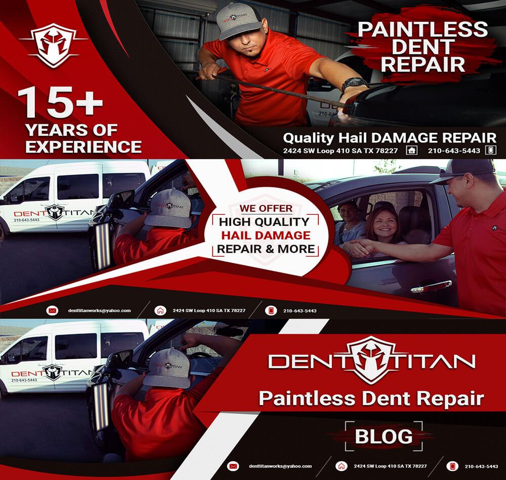 Dent Titan Facebook Covers